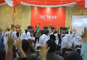 TEC Talk Ajak Anak Muda Berkontribusi