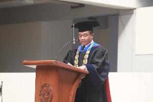 Rektor Universitas Trilogi, Prof. Dr. Ir. Asep Saefuddin, MSc