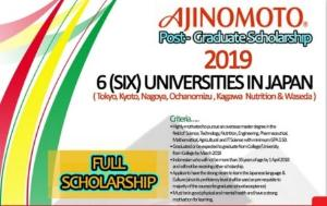 Tertarik Kuliah di Jepang?  Yuk, Ikutan Beasiswa Ajinomoto