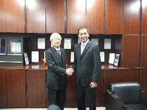 Rektor Unsada, Dr.Oloan P.Siahaan,MEng,MAEP