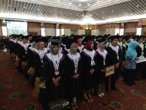 Lepas 282 Wisudawan, Usahid Berkomitmen Meningkatkan Mutu Pendidikan