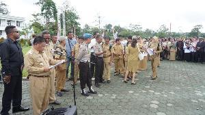 Ratusan Guru di Mimika Demo Tuntut Pembayaran Hak