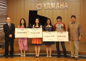 Empat Anak Muda Raih Beasiswa Yamaha Musik Indonesia