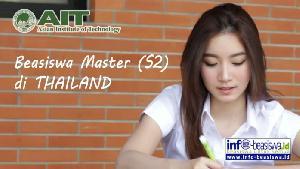 Beasiswa Master (S2) di Asian Institute of Technology Thailand
