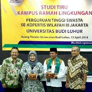 Universitas Budi Luhur Dukung Program Kampus Zero Waste