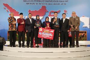 Unsyiah  Kuala Aceh Juara Debat Konstitusi MPR 2018