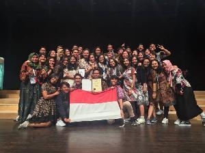 UPN Raih Posisi Tiga Besar Ajang Festival Musik Dunia