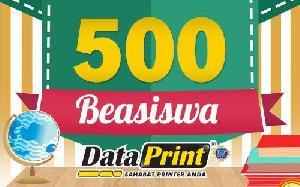 Dataprint Sediakan 500 Beasiswa Bagi Pelajar dan Mahasiswa