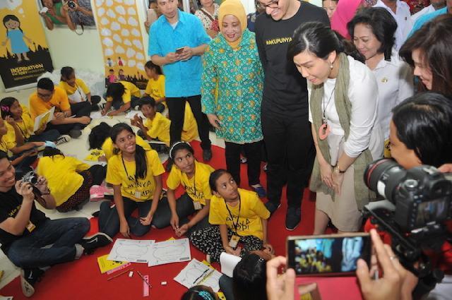 Jalin Kerjasama Pemprov DKI Jakarta, IFF Berikan Pendidikan Informal bagi Anak-anak Kurang Mampu