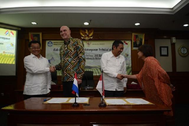 Indonesia dan Belanda Kembangan Model SMK Pertanian