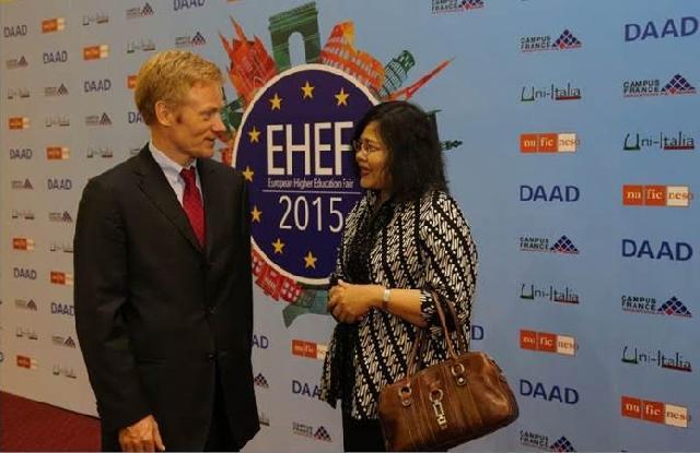 140 Institusi Pendidikan Tinggi Eropa Ramaikan EHEF 2015