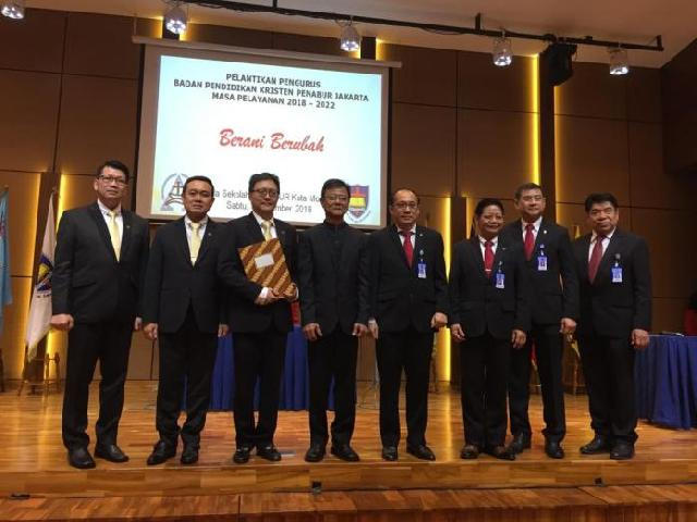 Pelantikan Pengurus BPK PENABUR Jakarta Masa Pelayanan 2018-2022