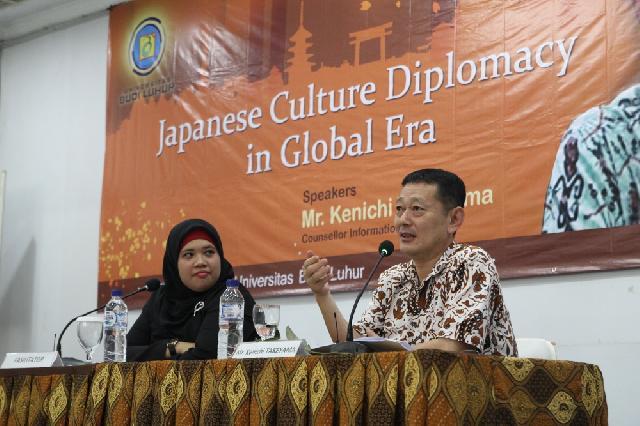 UBL dan Kedubes Jepang Gelar Seminar Diplomasi Budaya Jepang di Era Global