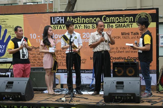 UPH Konsisten Terapkan Non Smoking Campus