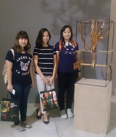 Karya Mahasiswa Arsitek UPH Terpilih di Pameran Galeri Nasional 2015