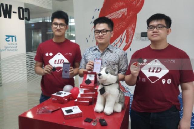 Tiga Alumni ITS ini Ciptakan Aplikasi Pencegah Kehilangan Barang