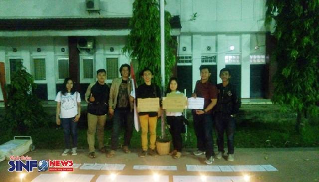Aksi Terorisme Surabaya, Mahasiswa Fakultas Hukum Unsika Gelar Refleksi dan Doa