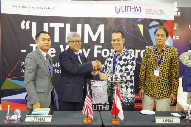 Universitas Mercu Buana Lakukan MoU dengan Universitas Tun Hussein Onn Malaysia