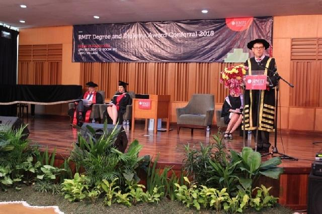 UPH-RMIT Gelar RMIT Degree and Diploma Award Conferral 2018