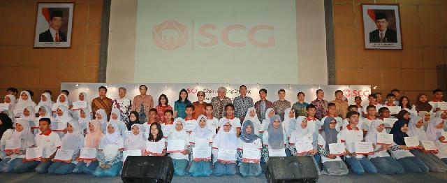 SCG Gandeng Ancora Foundation Berikan Beasiswa Bagi Pelajar 25 SMA