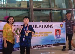 Siswa BPK PENABUR, Berprestasi Hingga Berhasil Meraih Emas dalam OSN 2019