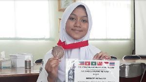 Salsabila Putri, Pelajar Asal Bekasi Raih Medali Lomba Matematika Internasional