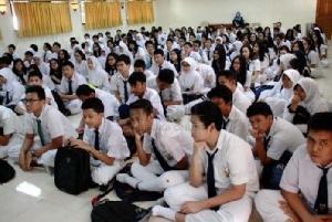 Program Sekolah Gratis bagi 142 Ribu Siswa Menengah