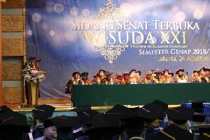 Universitas Al Azhar Indonesia Gelar Wisuda ke-XXI