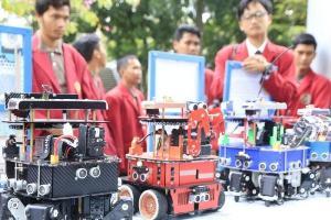 Luar Biasa! Tim Robotik UMM Kembali Raih Juara Kontes Robot di AS