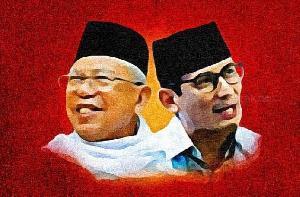 Program Pendidikan Capres KH Ma'ruf Amin dan Sandiaga Salahuddin Uno