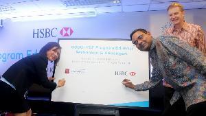 HSBC dan PSF Luncurkan Program Pendidikan Perbankan dan Keuangan