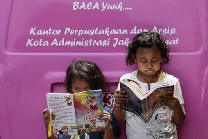 Akses Perpustakaan Indonesia Timur Masih Minim