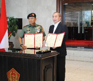 Binus dan TNI Sepakat Lakukan Kerjasama Pemberian Beasiswa