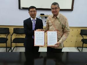 Kemitraan Universitas Esa Unggul dan Universitas Tiongkok Dukung Industri 4.0