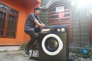 Mesin Cuci tanpa Listrik, Ini Inovasi Karya Mahasiswa UMM