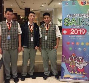 Siswa SMAK 1 PENABUR Raih Emas di Kompetisi OSN 2019