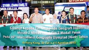 Indonesia Tampil Cemerlang di  Olimpiade Geografi Internasional 2019
