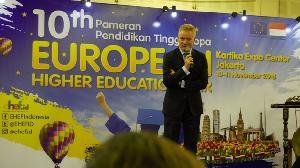 Untuk ke-10 Kalinya Pameran Pendidikan Tinggi Eropa 2018 Digelar di Jakarta