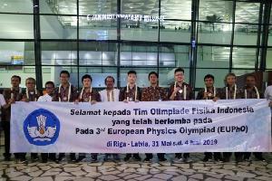 Pelajar Indonesia Raih 5 Medali Internasional