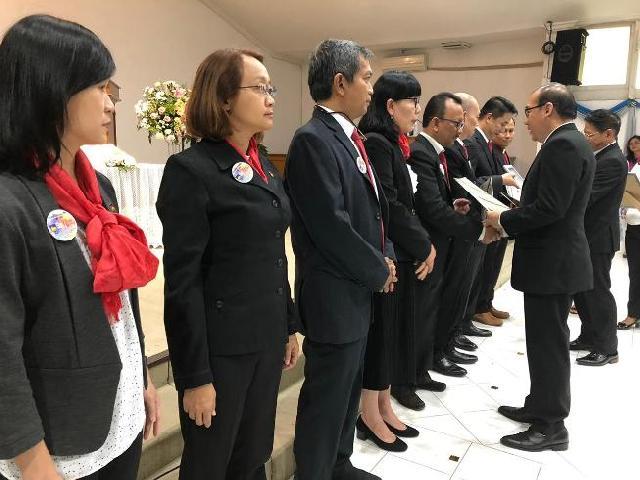 Resmi Dilantik, Pengurus  BPK PENABUR Bogor Periode 2018-2022