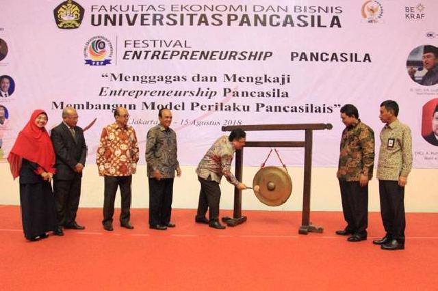Konsep Entrepreneurship Pancasila, Ini yang Digagas Universitas Pancasila
