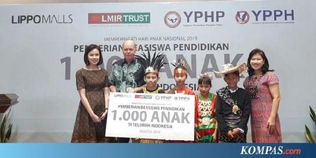 Dukung Program 'Indonesia Pintar' Lippo Malls Beri 1.000 Beasiswa