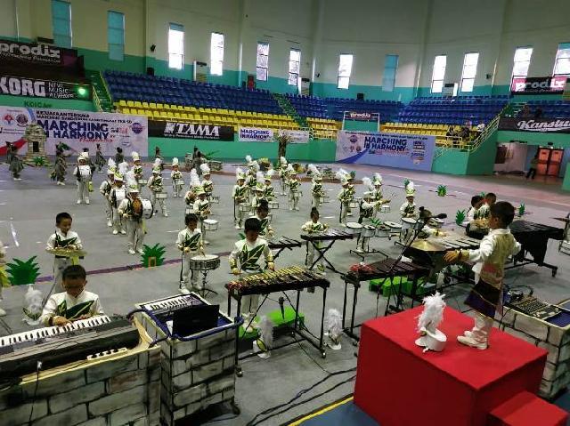 TKK 3 PENABUR Jakarta Juarai Kompetisi Marching Band Tingkat Nasional