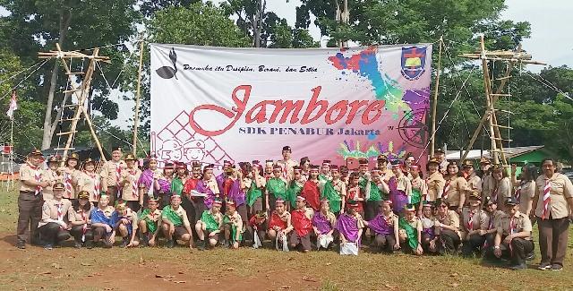 BPK PENABUR Jakarta Gelar Jambore Pramuka Penggalang