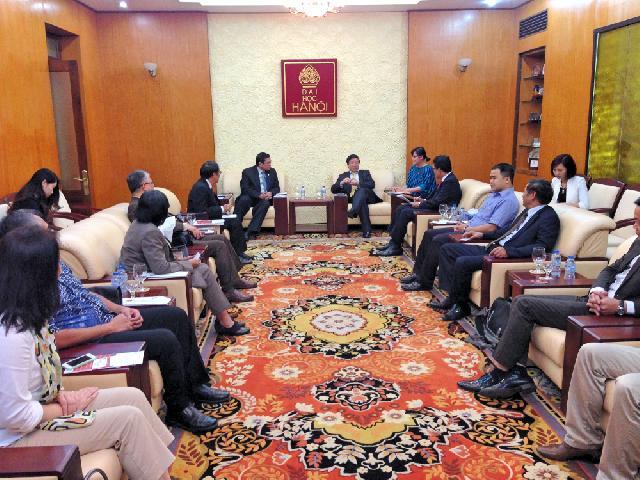 Universitas Budi Luhur  Lakukan Kunjungan ke Hanoi University