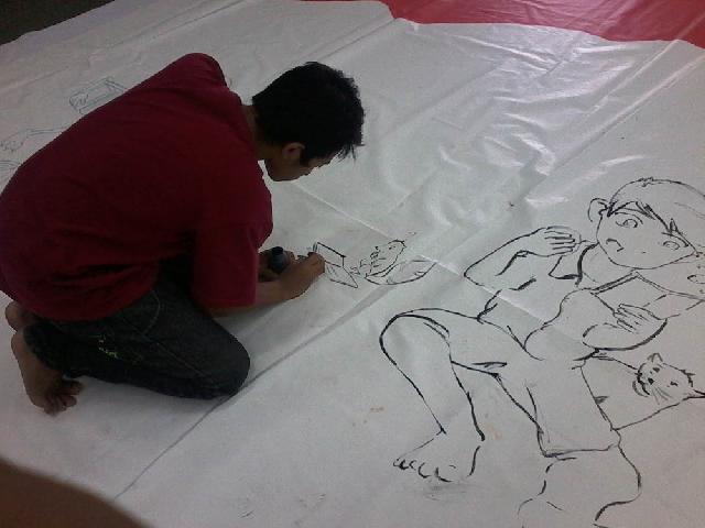 Seni Mural, Sarana Kreativitas Anak Melalui Media Luar Ruang