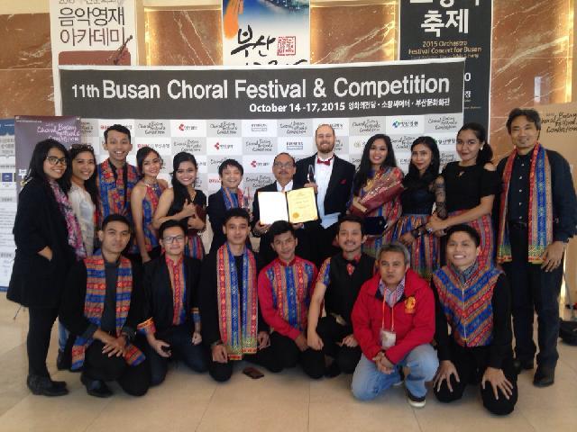 Vocademia UI Raih Medali Emas di Ajang Musik Internasional
